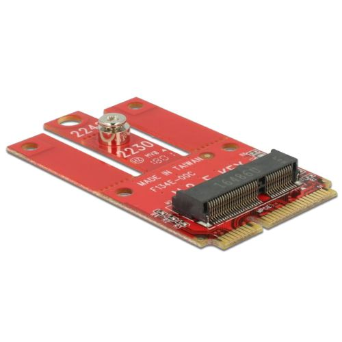 Adapter Mini PCIe > M.2 Key E slot