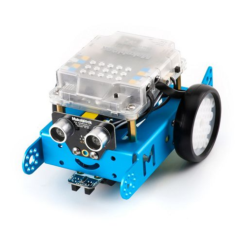 Makeblock mBot v 1.1 - Blue (2.4G Version), utbildningsrobot-kit