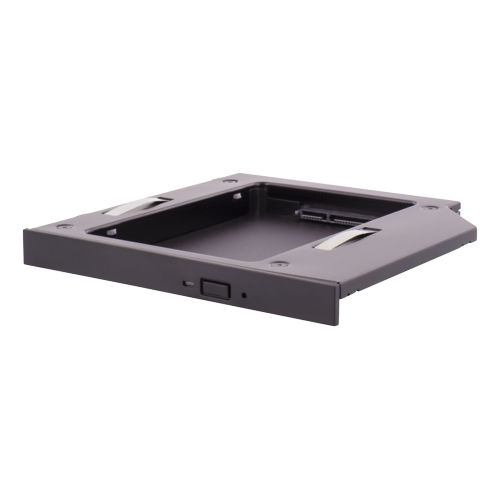 "DELTACO HDD caddy, 1x2,5"" max 12,5mm HDD i en 5,25"" slim plats,"