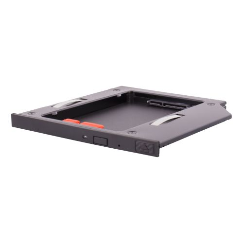 "DELTACO HDD caddy, 1x2,5"" max 9,5mm HDD i en 5,25"" slim plats, s"
